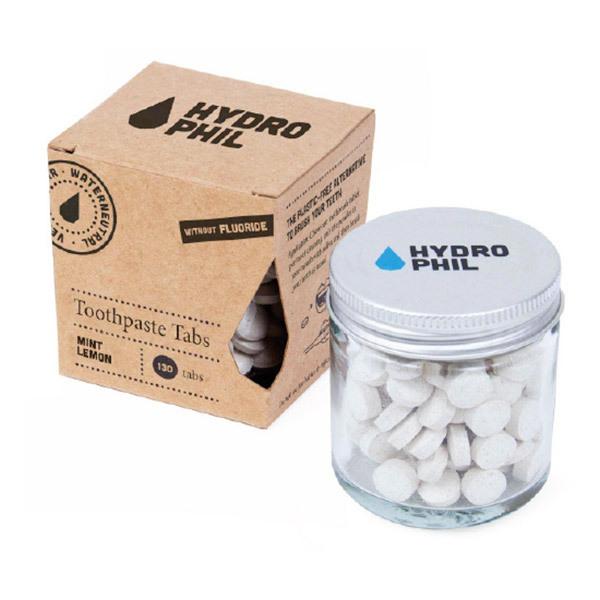Hydrophil - Dentifrice à croquer Menthe Citron 130 pastilles