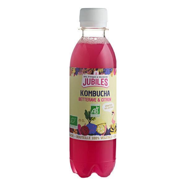 Jubiles - Kombucha betterave citron 25cl