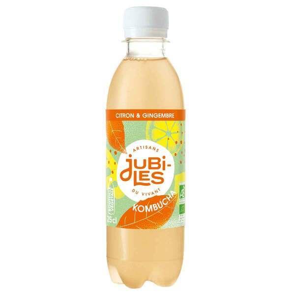 Jubiles - Kombucha citron gingembre 25cl