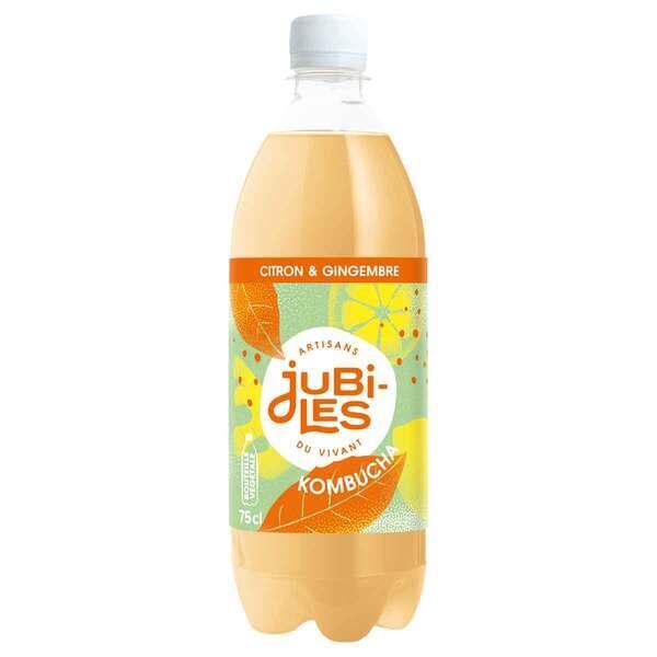 Jubiles - Kombucha citron gingembre 75cl