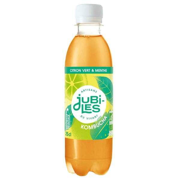 Jubiles - Kombucha citron vert menthe 25cl