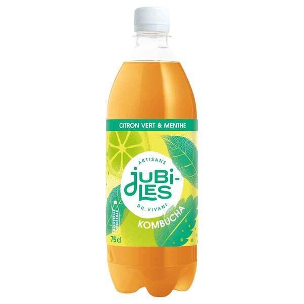 Jubiles - Kombucha citron vert menthe 75cl