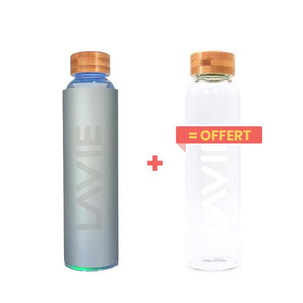 LaVie - Pack Purificateur d'eau 50cl silver + 1 bouteille offerte