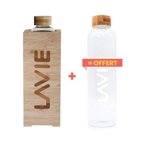LaVie - Pack Purificateur d'eau Premium 1L + 1 bouteille offerte