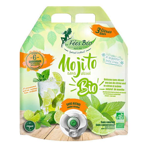 Les Fées bio - Mojito sans alcool Bio 3L