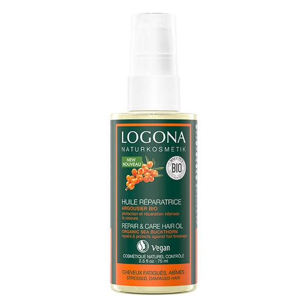 Logona - Huile réparatrice Argousier Bio - 75ml