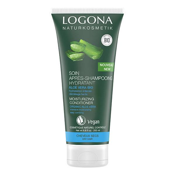 Logona - Soin Après-shampoing hydratant Aloe Vera Bio - 200ml