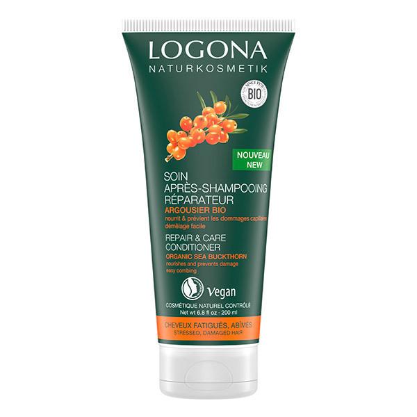 Logona - Soin Après-shampooing réparateur argousier - 200ml