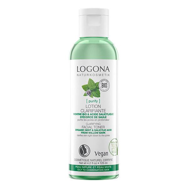 Logona - Lotion Menthe Bio & Acide salicylique - 125ml