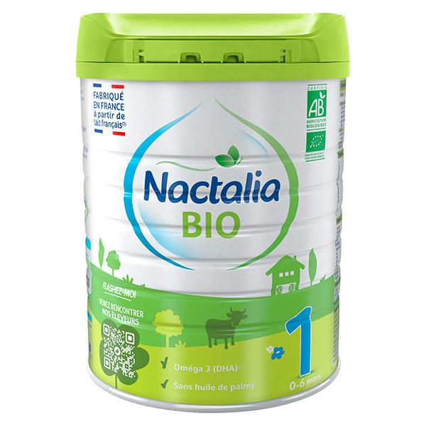 Nactalia BIO - Nactalia Bio Lait bio infantile 1er Age 0-6 mois 800g
