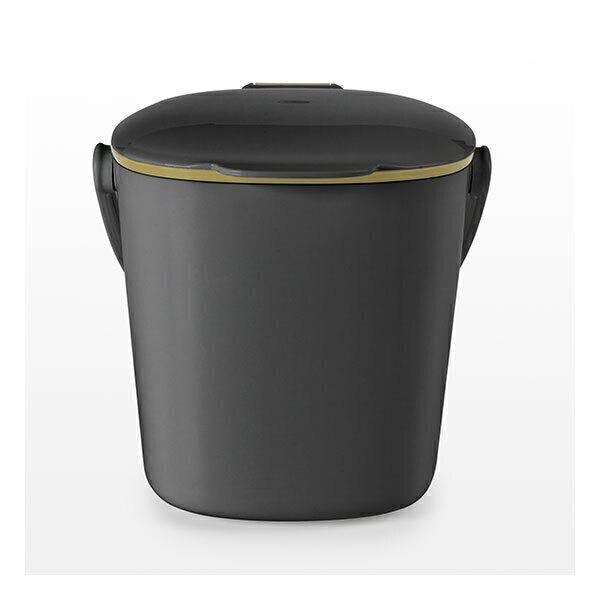 Oxo - Bac à compost de cuisine gris 6,6L