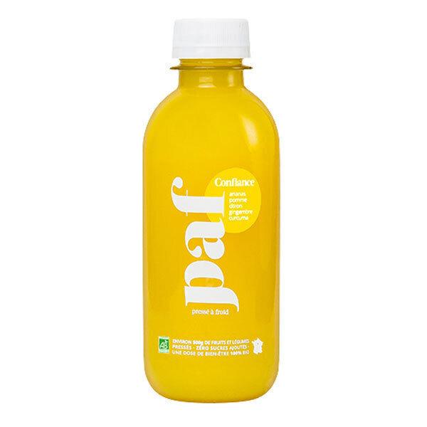 PAF - Jus Confiance ananas pomme citron gingembre et curcuma 245ml
