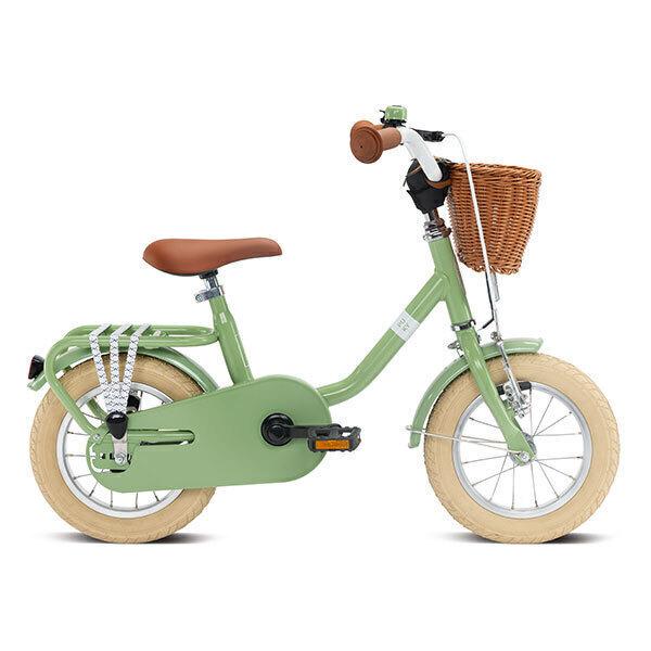 """Puky - Vélo CLASSIC 12""""Alu vert rétro - Dès 3 ans"""