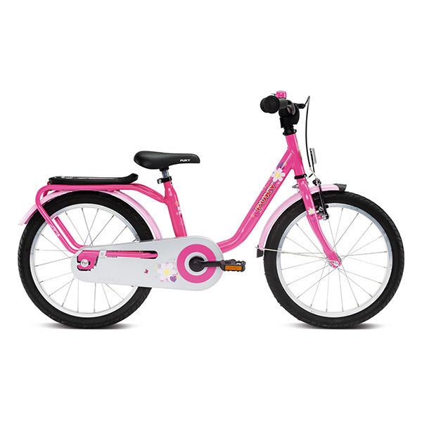 """Puky - Vélo STEEL 18"""" rose - De 5 à 7 ans"""