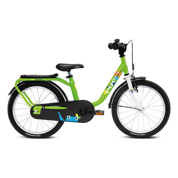 """Puky - Vélo STEEL 18"""" vert - De 5 à 7 ans"""