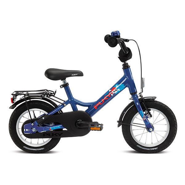 """Puky - Vélo YOUKE 12"""" Aluminium bleu marine - Dès 3 ans"""