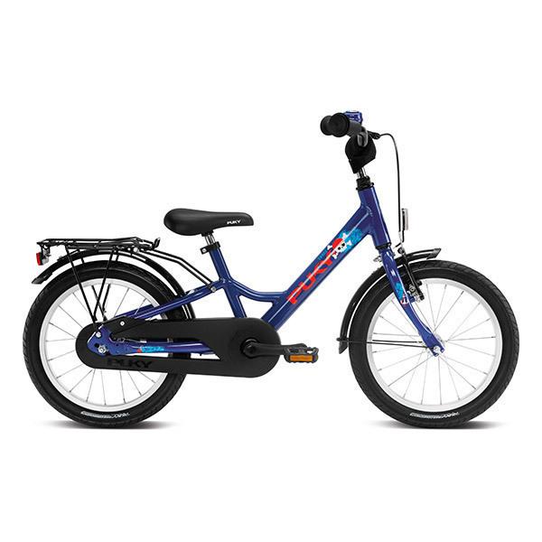 """Puky - Vélo YOUKE 16"""" Aluminium bleu marine - Dès 4 ans"""