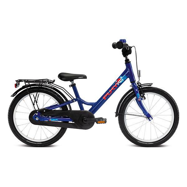 """Puky - Vélo YOUKE 18"""" Aluminium bleu marine - Dès 5 ans"""