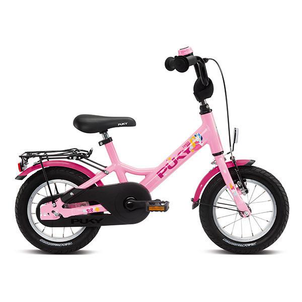 """Puky - Vélo YOUKE 12"""" Aluminium rose - Dès 3 ans"""