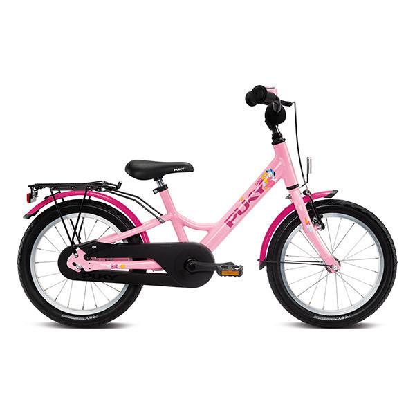 """Puky - Vélo YOUKE 16"""" Aluminium rose - Dès 4 ans"""