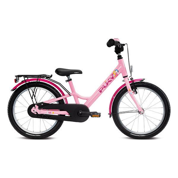 """Puky - Vélo YOUKE 18"""" Aluminium rose - Dès 5 ans"""