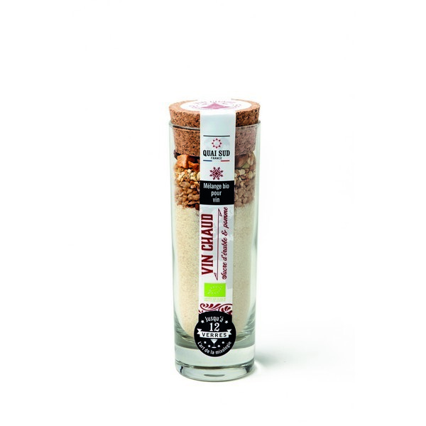 Quai Sud - Mélange pour vin chaud au sucre d'érable et pomme 145g