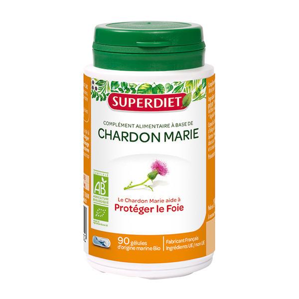 SUPERDIET - Chardon marie protection du foie 90 gélules
