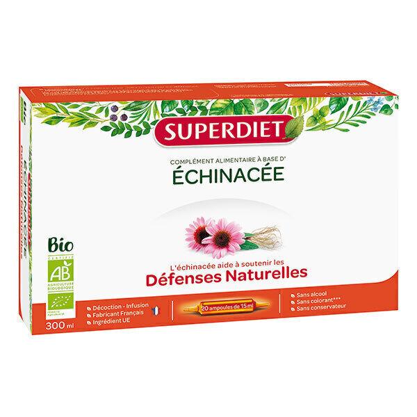 SUPERDIET - Echinacée défenses naturelles 20x15ml