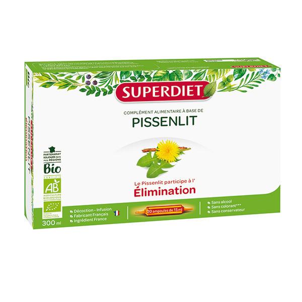 SUPERDIET - Pissenlit élimination 20x15ml
