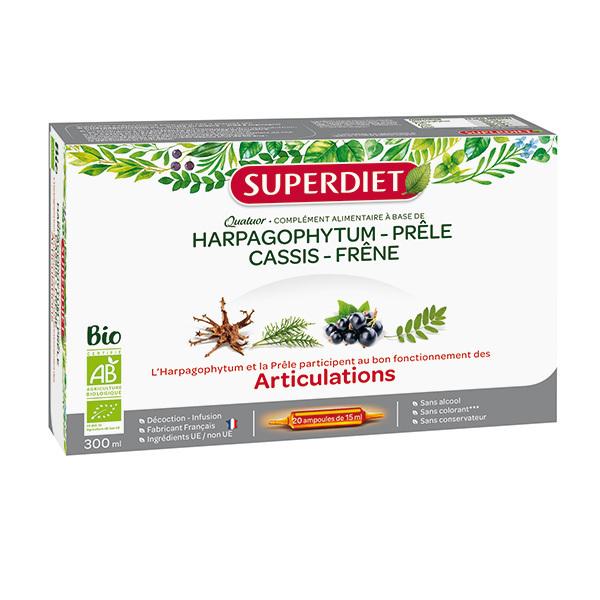 SUPERDIET - Quatuor articulations 20x15ml