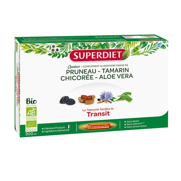 SUPERDIET - Quatuor transit 20x15ml