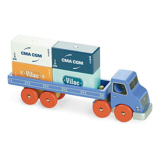 Vilac - Camion porte-conteneurs Vilacity - Dès 3 ans