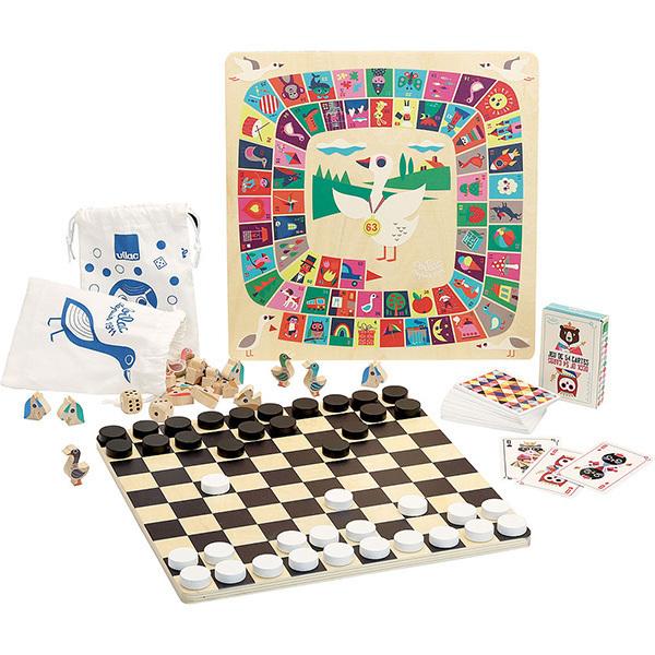 Vilac - Grand coffret multi-jeux - Dès 4 ans