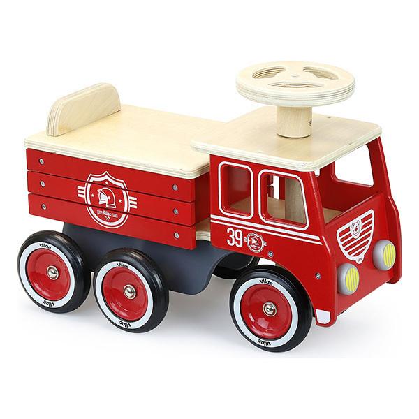 Vilac - Porteur camion de pompiers - Dès 18 mois