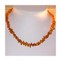 BalticWay - Adult Honey Amber Chip Necklace