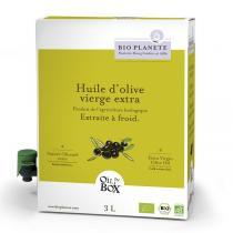 Bio Planète - Huile d'olive vierge extra Douce 3L
