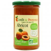 Confit de Provence - Confiture allégée en sucre Abricot 290g