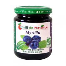 Confit de Provence - Confettura biologica mirtillo senza zucchero 290 g