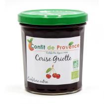Confit de Provence - Confettura biologica ciliegia amarena 370 g