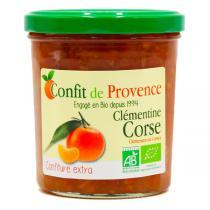 Confit de Provence - Confiture extra de Clémentine Corse 370g