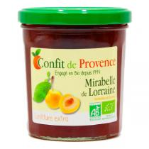 Confit de Provence - Confiture extra de Mirabelle de Lorraine 370g