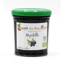 Confit de Provence - Confiture Extra de Myrtille BIO 370g