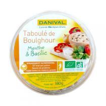 Danival - Bulgur Taboulé, Minze und Basilikum 180gr