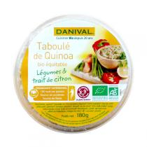 Danival - Quinoa-Taboulé, Gemüse und Zitrone 180gr