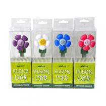 Direct Nature - Diffuseur Fleur USB 4 couleurs