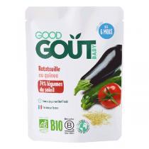 Good Gout - Plat Ratatouille de Quinoa 190g Dès 6 mois