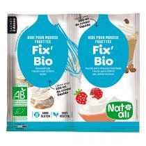 Natali - Fix'Bio aide pour mousse fouettée - 2 x 8g