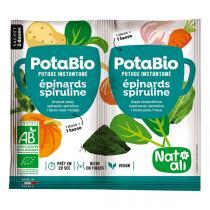 Natali - Potage Bio Epinards Spiruline 2x8.5gr
