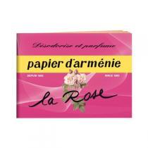 Papier Arménie - Papier d'Arménie Carnet La Rose