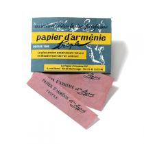 Papier Arménie - Triple Booklet - Fragrant burning strips